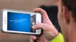 online foodservice marketing